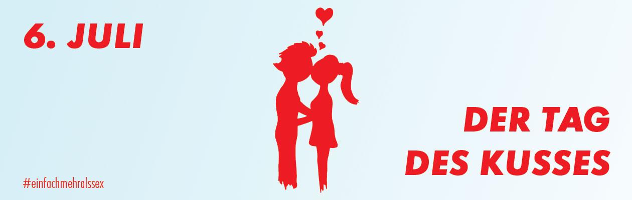 6. Juli - Der Tag des Kusses